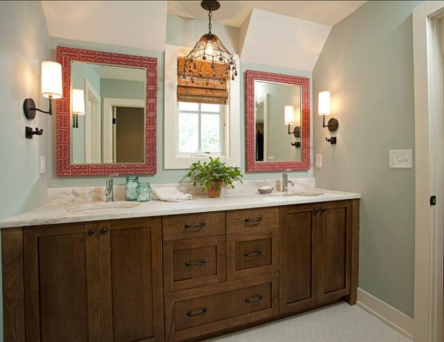 The best bathroom paint colors - Gray Wisp