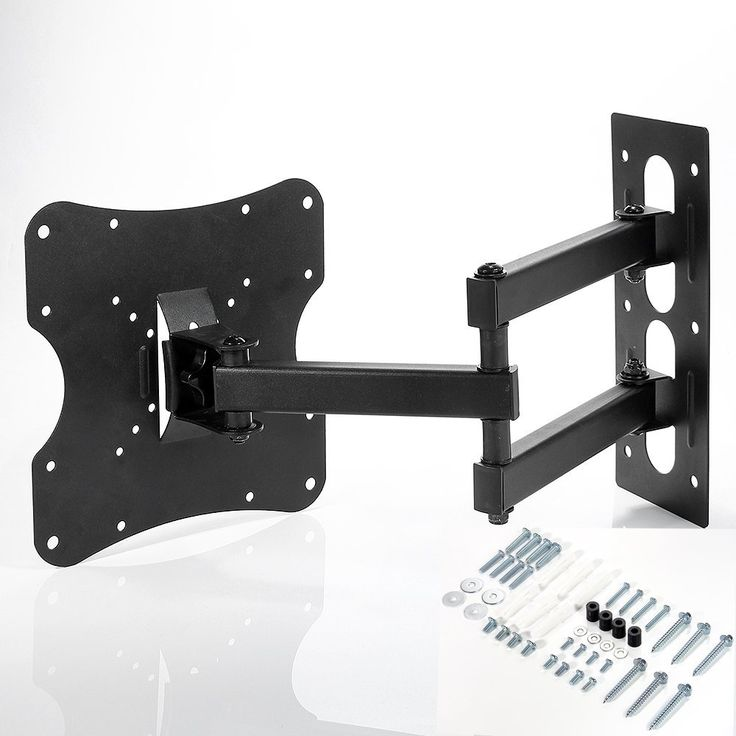 Amazon.com: Lumsing® Articulating Tilt Swivel extend Full motion Corner TV LCD LED TV Wall Mount Bracket (Black, 10-32 inches TV display): Electronics
