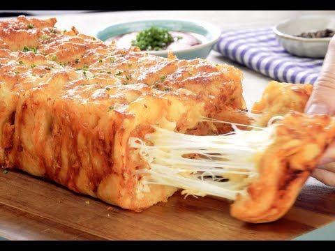 (26) Слоеный Хлеб С Сыром И Курочкой: Очень Необычный И Вкусный Рецепт - YouTube