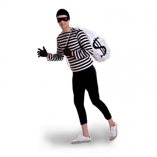 Disfraz de Ladrón de Bancos para hombre #disfraces #carnaval #novedades2017