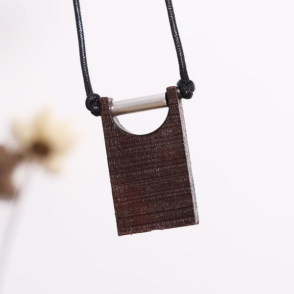 Retro Wooden Ethnic Casual Women Necklaces