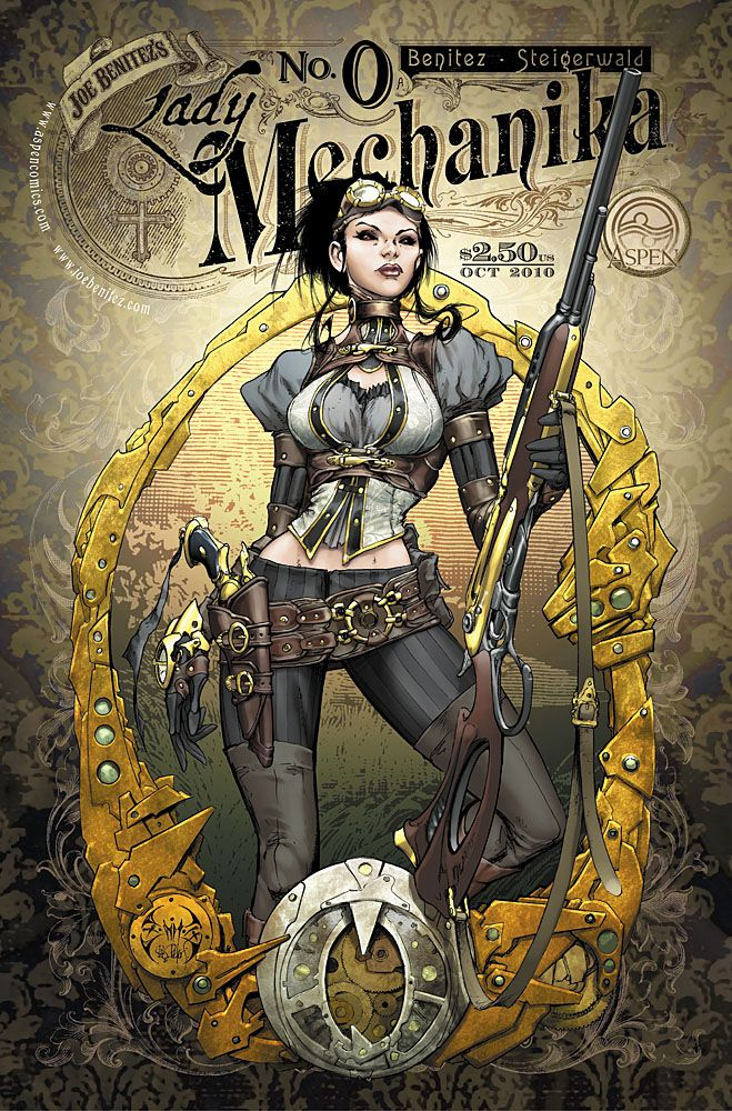 Lady Mechanika steampunk
