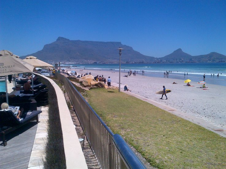 Our guests are spoiled for choice on this beautiful sunny day...pool deck or beach - we say do both!! Lagoon Beach Hotel - Cape Town