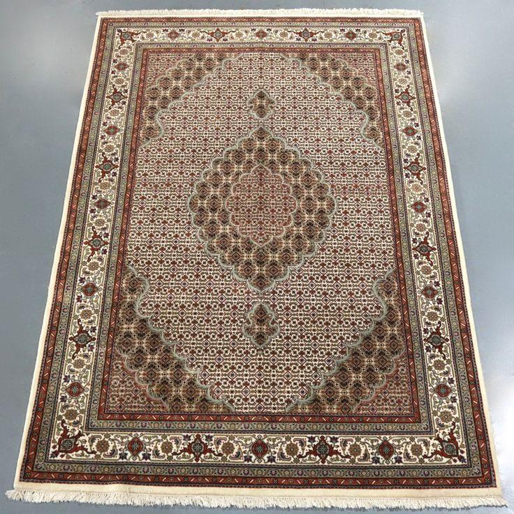 Mahi Tabriz Indo Rug (Ref 279) 247x165cm - PersianRugs.com.au