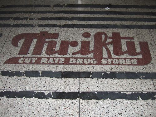 Thrifty Cut Rate Drug Stores – #Cut #DRUG #drugsto…