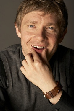 """Martin Freeman is probably old enough to be my dad and I do not even care. Also, the Martin Freeman Tumblr frequently refers to him as, """"a reliable shag."""" I am sold."""