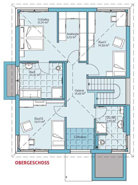 Fertighaus Und Energiesparhaus   Villa 189 OG