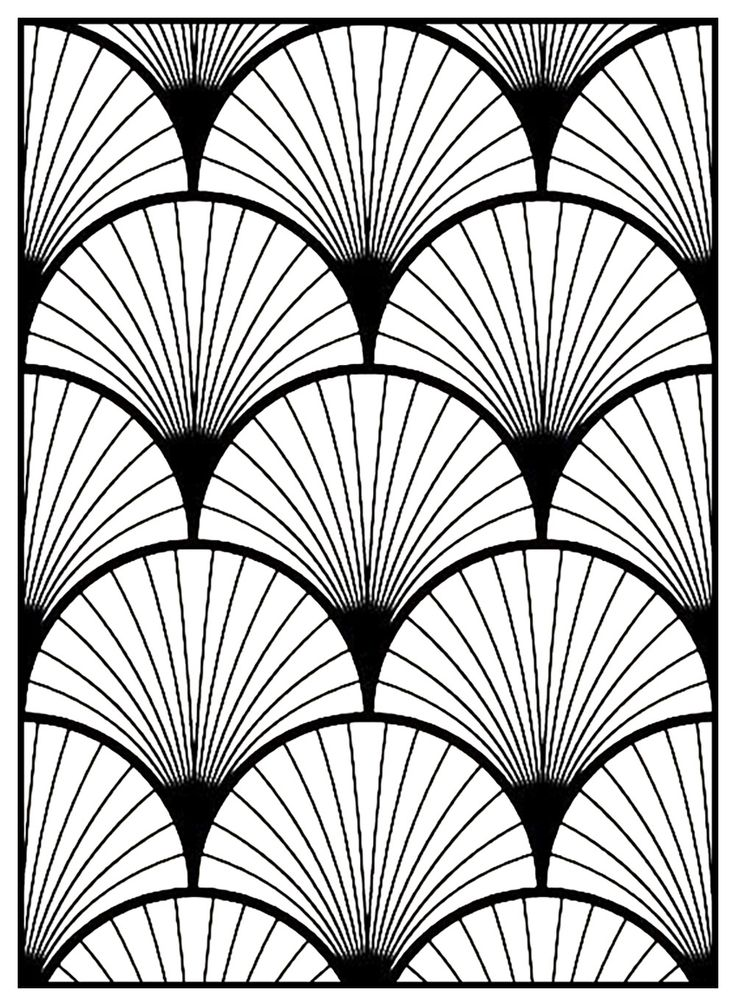 Art Deco Line Design : Art deco patterns designs pixshark images