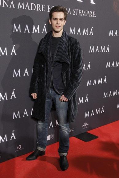 Marc Clotet en el estreno de la película 'Mamá' en Madrid #actores #cine