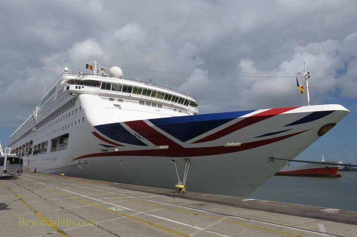 Oriana review.  A review of a cruise on P&O Cruises' cruise ship Oriana.
