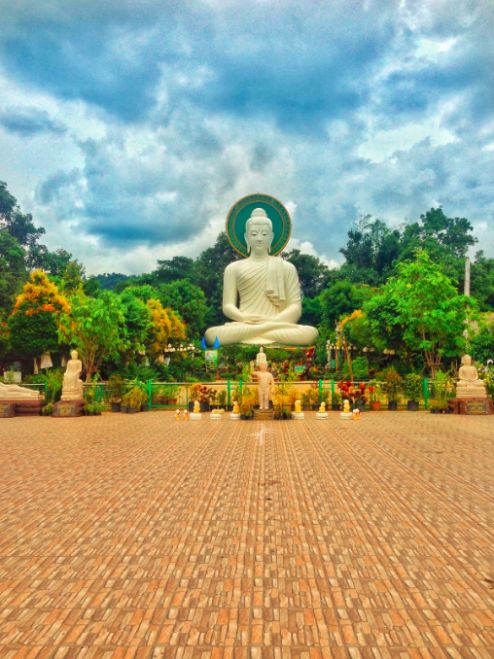 chiang rai doi in cee buddha