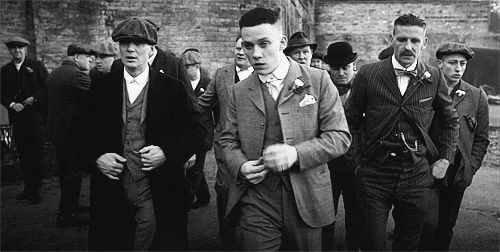 Old school cool … Peaky Blinders S3 is on BBC First at 8.30pm