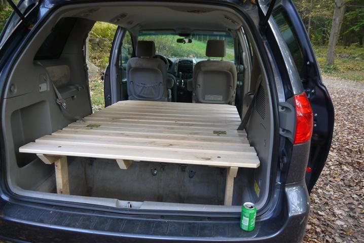 Toyota Sienna Platform Bed Complete Diy Camping Trailer