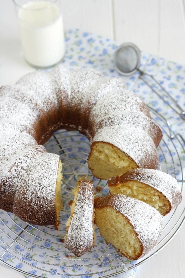 ciambella alla panna #dolci #dessert