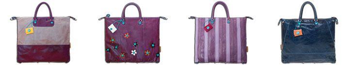 Lila und Blaue GABS Handtaschen SS 2013
