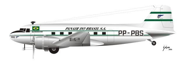 Douglas DC-3 Panair do Brazil