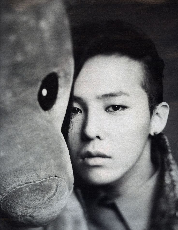 Korean idol star, G-Dragon, from the boy group Big Bang, for High Cut Magazine