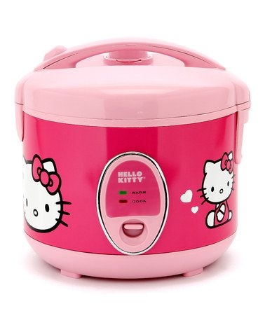 Take a look at this Hello Kitty Rice Cooker by Hello Kitty: Kitchen Appliances on #zulily today!