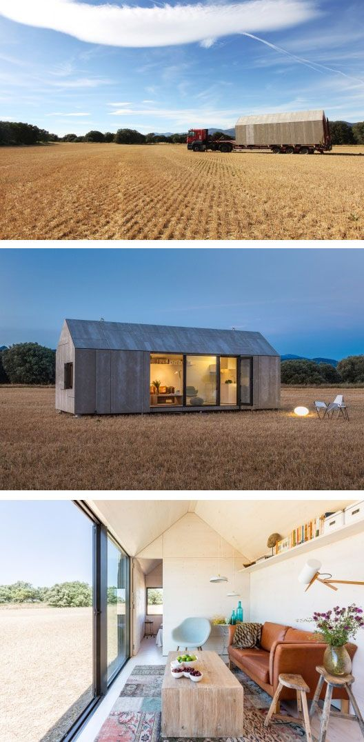 Portable House- Arch Daily