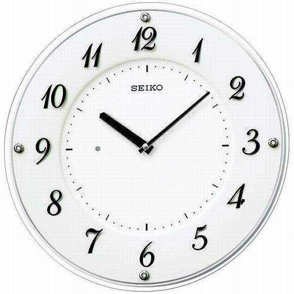 セイコー(SEIKO) 掛け時計 薄型 電波時計 KX503W 壁掛け時計販売 SEIKO セイコー 掛け時計 置き時計