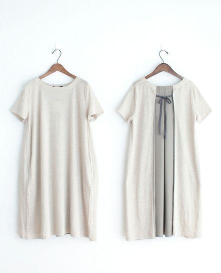 Le pivot linen cloth one piece - cholon [Rong]   Web Shop