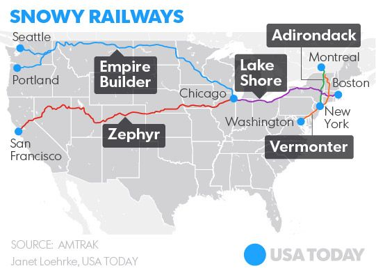 Best Amtrak Images On Pinterest Trains Auto Train And - Amtrak us map vacations scenic