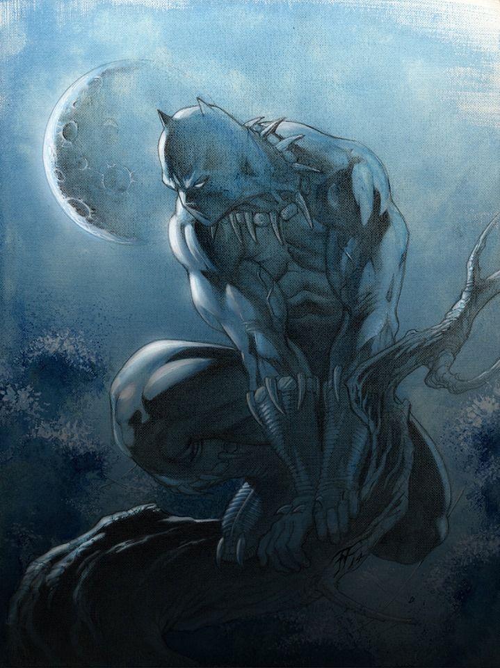 Black Panther by Fabrizio Fiorentino