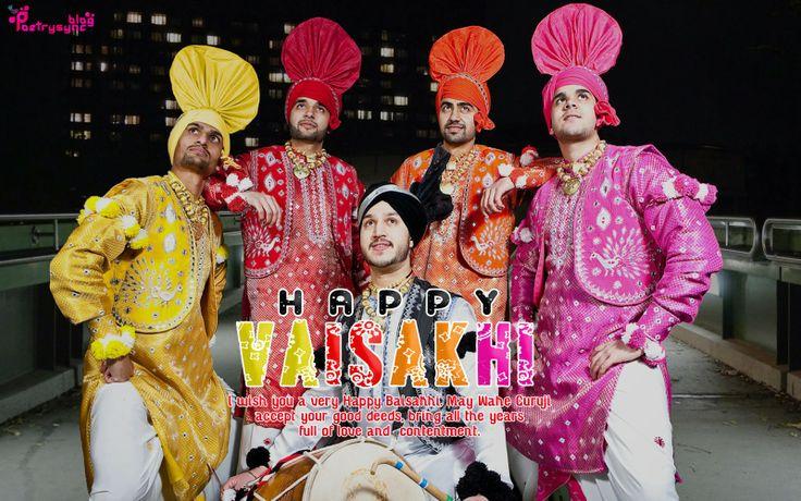 Happy Baisakhi Festival of Punjab Vaisakhi Wishes and Greeting
