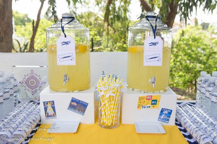 #Aeroplane #Lemonstand #lemonade #Baptism In #Rhodes #WeddingPlanner #Greece #GoldenAppleWeddings