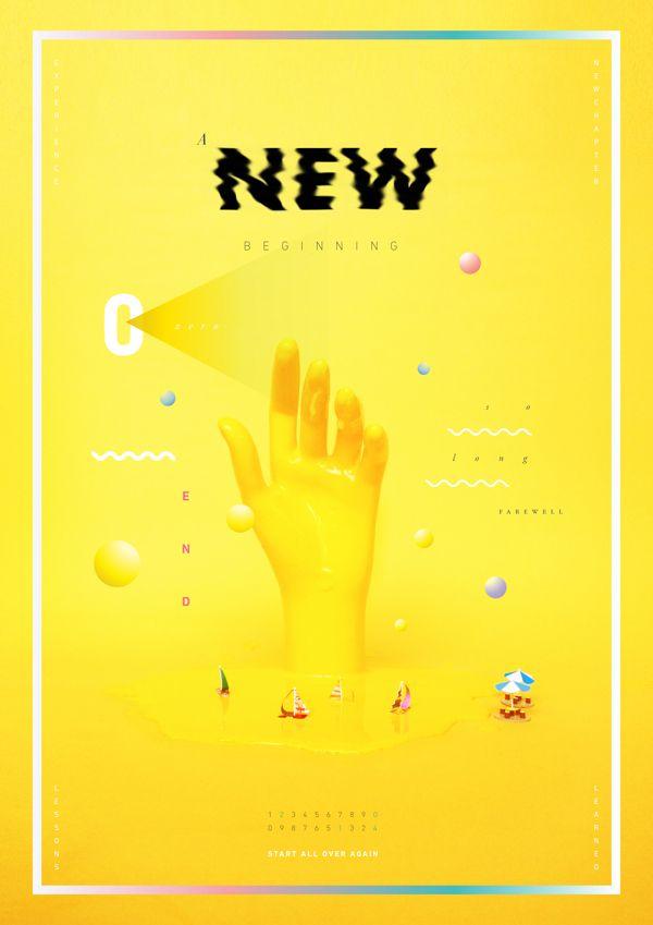 A New Beginning by cempaka surakusumah, via Behance