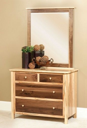 Stylish Design Cornwell Small Dresser Shown Mirror