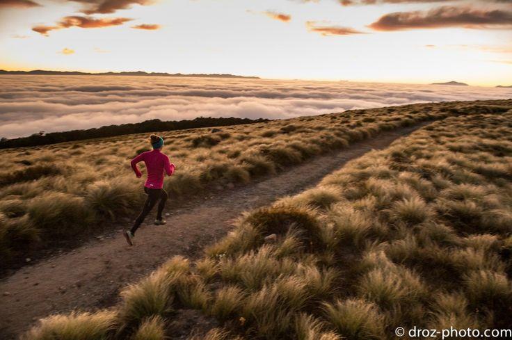 Emelie Forsberg, Kepler Trail, NZ.