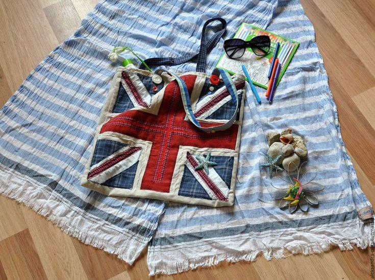 Купить Сумка Флаг Великобритании/ Union Flag - комбинированный, рисунок, union flag, флаг