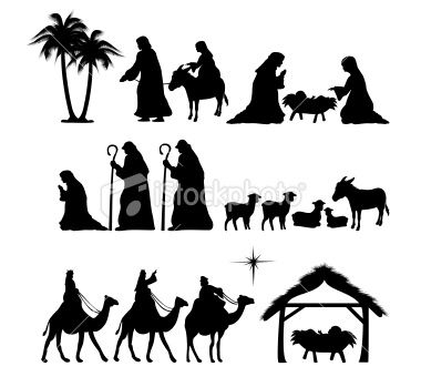 ... Jesus | Pinterest | Silhouette, Nativity and Nativity Silhouette