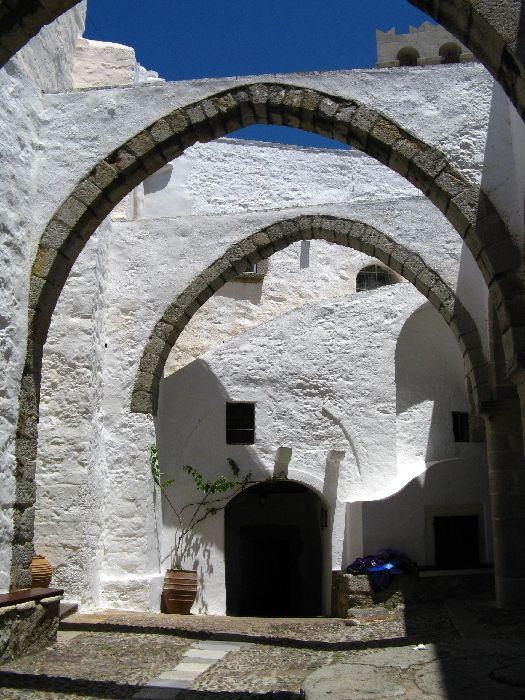 Patmos Monastery, Hora, Greece | Photo by olivera