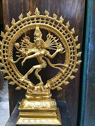 Dancing God Shiva Nataraja Hindu Statue for Home Mandir T... https://www.amazon.ca/dp/B00UJHNZ2O/ref=cm_sw_r_pi_dp_x_zng4zbFAC0VVD  #brassstatue #hindugod #homedecor #sale #homedecor #gift #festival
