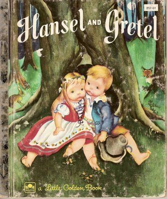 <3 the 'Hansel and Gretel' Little Golden book