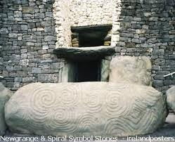 Irish spiral symbols