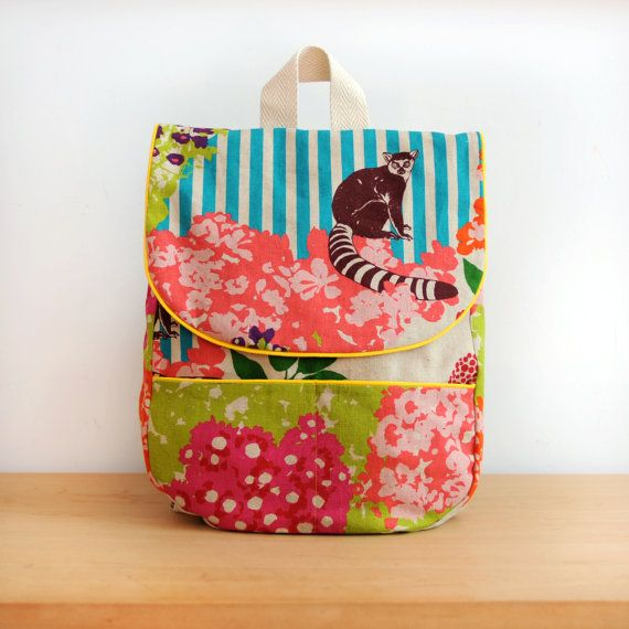 Mochilas para niños hechas a mano / Backpack for children handmade www.loribarcelona.com