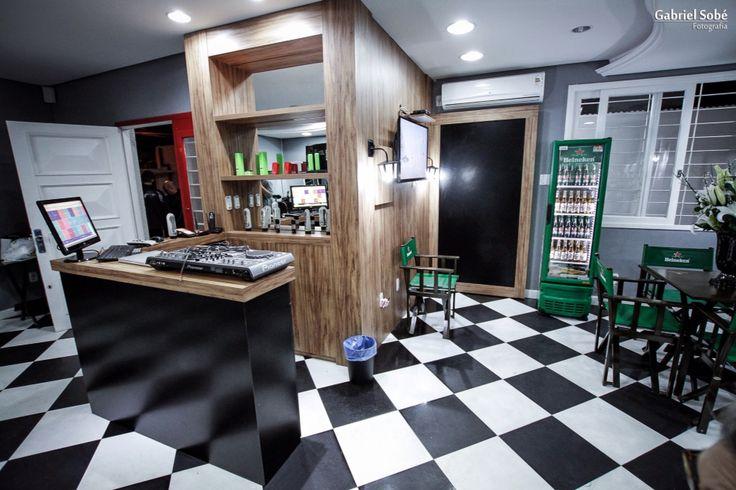 Recepção barbershop La Mafia