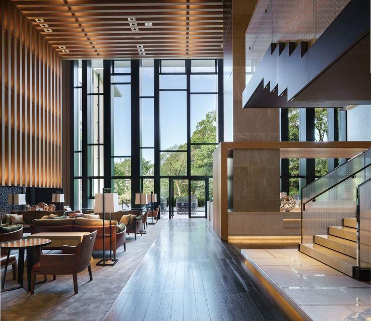 ©Seth Powers. Archdaily - Brasserie Restaurant at Four Seasons Hotel Kyoto, designed by Kokaistudios