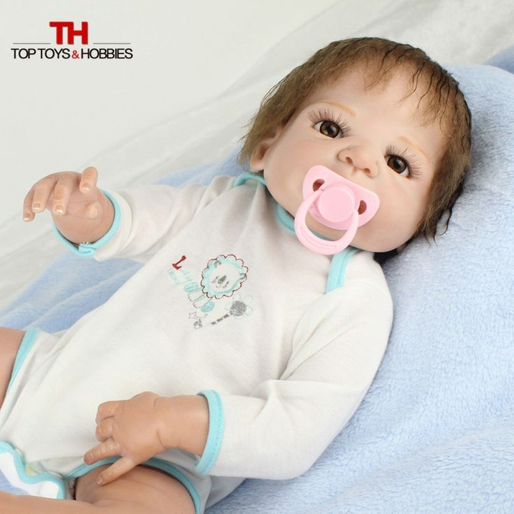 "83.99$  Buy here - http://aliygl.worldwells.pw/go.php?t=32773283220 - ""22"""" Bebe Doll Reborn NPK Super Real Boy Babies Doll Child Birthday Gift Magnetic Pacifier bonecas reborn de silicone menina"" 83.99$"