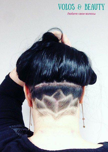 ❤ Белые женщины переняли у негритянок моду на татуировки из волос ❤