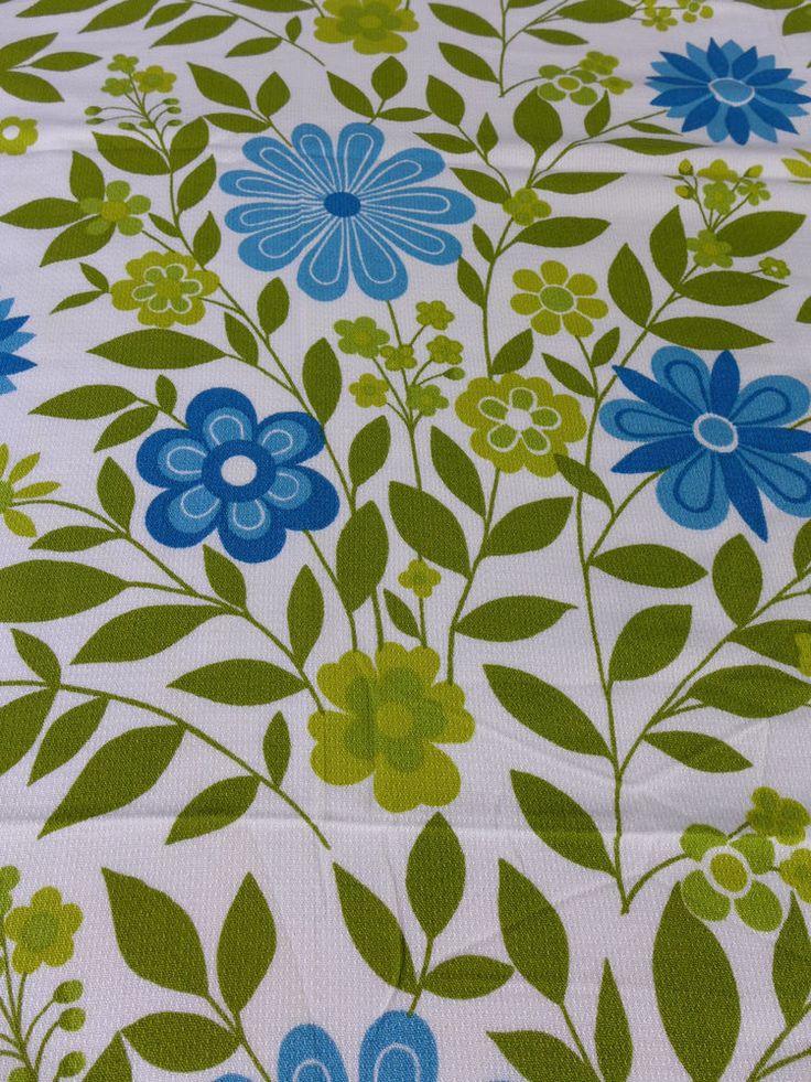 75 Best Groovy Vintage Fabrics Images On Pinterest