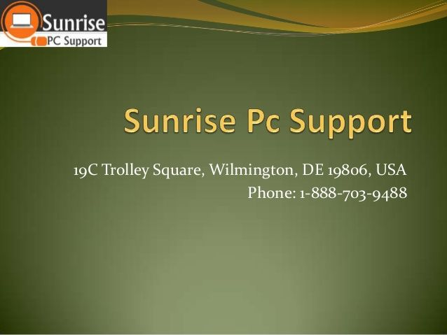 Sunrise PC Support has now become a proverbial brand name in Online Tech Support services, A peerless team of Certified Professionals, which are well-versed in handling the most intricate of PC related hitches, forms the indispensable part of the company's strength.