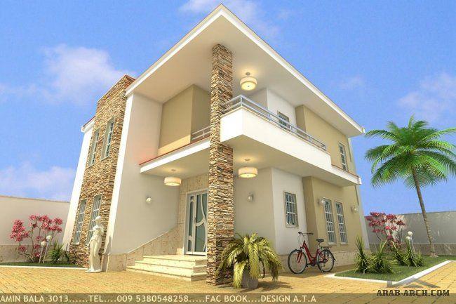 فيلا بمساحة 120 متر تصميم شركة Ata الخرائط الداخلية 3d House Styles Duplex Plans House