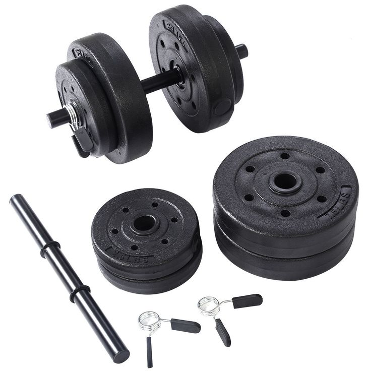 (adsbygoogle = window.adsbygoogle || []).push();     (adsbygoogle = window.adsbygoogle || []).push();   Goplus Weight Dumbbell Set 40 LB Adjustable Cap Gym Barbell Plates Body Workout  Price : 29.99  Ends on : 3 weeks  View on eBay      (adsbygoogle = window.adsbygoogle || []).push();