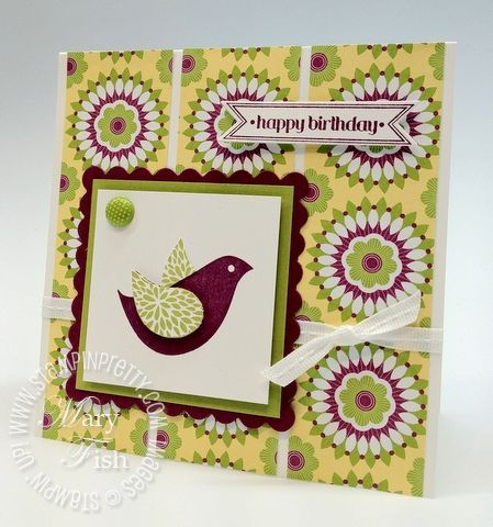 1000 images about cards betsy 39 s blossoms on pinterest for Mary fish stampin up