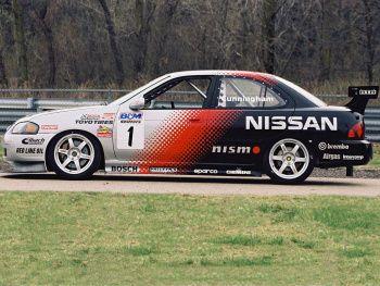 Nismo Nissan Sentra SE-R Spec V Racing Car (B15) '2004