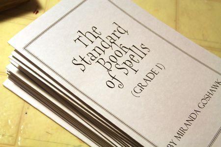 Standard Book of Spells printable
